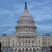 United States Capitol Building Poster by Kim Hojnacki