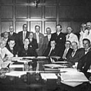 United States Industry Leaders Poster