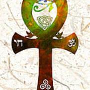 Unity 11 - Spiritual Artwork Poster