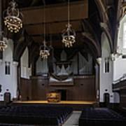 University Auditorium And The Anderson Memorial Organ Poster