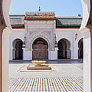 University Of Al-karaouine In Fes In Morocco Poster