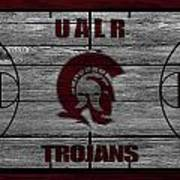 University Of Arkansas At Little Rock Trojans Poster