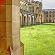 University Of Sydney Quadrangle V2 Poster