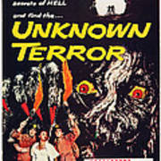 Unknown Terror, Us Poster Art, Bottom Poster