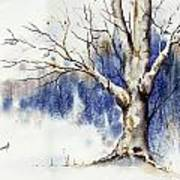 Untitled Winter Tree Poster