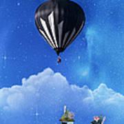 Up Through The Atmosphere Poster