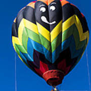 Up Up And Away In My Beautiful Balloon Poster by Edward Fielding