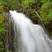 Upper Cougar Falls Poster