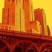 Upper West Side And Hudson River Manhattan Poster