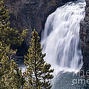 Upper Yellowstone Falls Poster