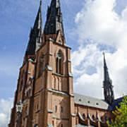 Uppsala Cathedral - Sweden Poster