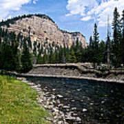 Upriver In Washake Wilderness Poster