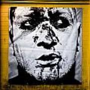 Urban Art - Face Poster