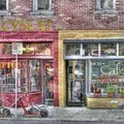 Urban Mercyseat Oil Painting Poster