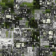 Urban Scene Going Green Poster