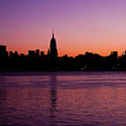 Urban Sunrise Poster