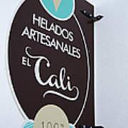 Uruguay Helados Poster