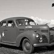 Us Army Dodge Staff Car Poster