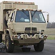 U.s. Army Truck Poster