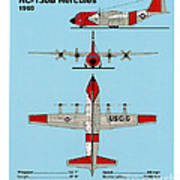 Coast Guard Hc-130 B Hercules Poster