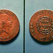 U.s. Coin, 1793 Poster
