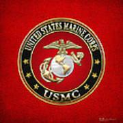 U. S. Marine Corps - U S M C Emblem Special Edition Poster