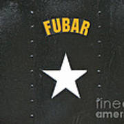Us Military Fubar Poster by Thomas Woolworth