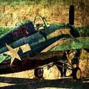 Us Ww II Grumman F4f Wildcat Fighter Plane Poster
