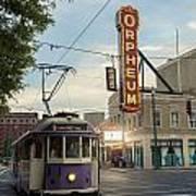 Usa, Tennessee, Vintage Streetcar Poster
