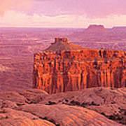 Usa, Utah, Canyonlands National Park Poster