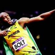 Usain Bolt Sweet Victory II Poster