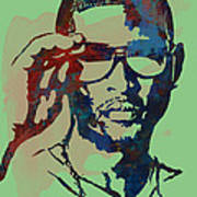 Usher Raymond Iv  - Stylised Pop Art Sketch Poster Poster