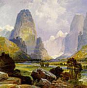 Utah Mountains Poster