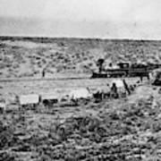 Utah Railroad, 1869 Poster
