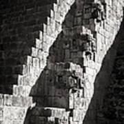 Uxmal Maya Ruins Poster