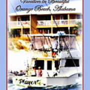 Vacation In Beautiful Orange Beach Alabama Poster