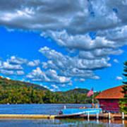 Vacationing On Big Moose Lake Poster