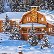 Vail Chalet Poster