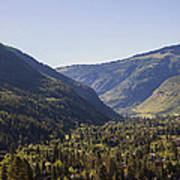 Vail In Summer Poster