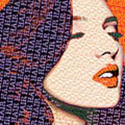 Vain Portrait Of A Woman Poster