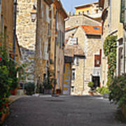 Valbonne - French Village Of Contradictions Poster by Christine Till