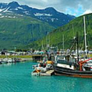 Valdez Harbor Poster