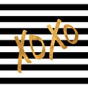 Valentines Stripes IIi Poster