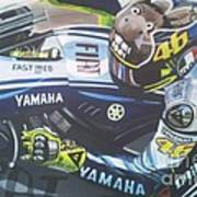 Valentino Rossi - The Doctor Poster