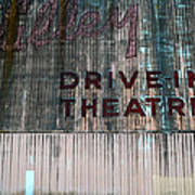 Valley Drive-in Theatre Poster