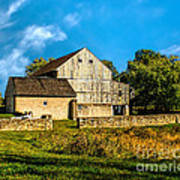 Valley Forge Barn Poster