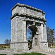 Valley Forge National Memorial Arch Poster