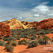 Valley Of Fire Poster by Robert Bales