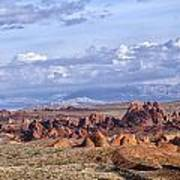 Valley Of Fire Vista Poster