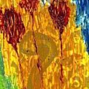 Van Gogh's Garden Of Eden Poster